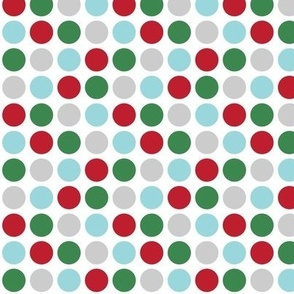 christmas polka dots two