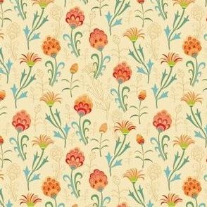 Turkish floral texture
