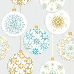 Christal Christmas Snowballs