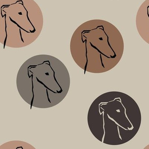 Sighthounds- coffeebrown
