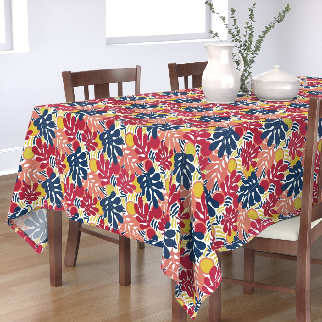 Bantam Rectangular Tablecloth featuring Matisse_Final3 by ridley