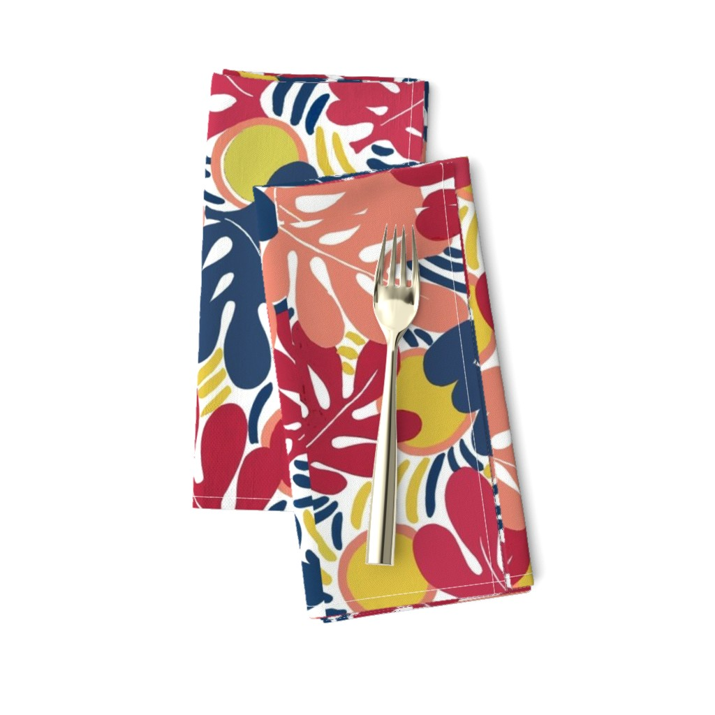 Amarela Dinner Napkins featuring Matisse_Final3 by ridley