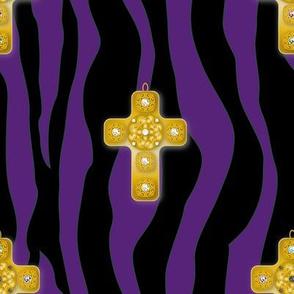 Fabric_Baroque_Cross_purple