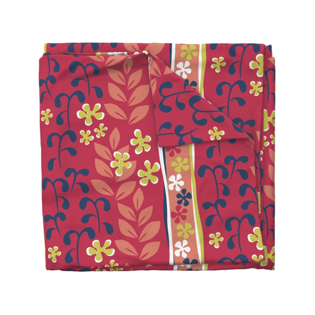 Wyandotte Duvet Cover featuring hommage_Matisse by sraka