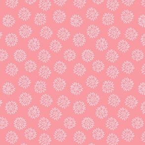 Pink Flower Ditsy