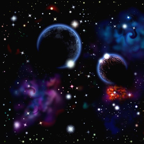 Space Planets.
