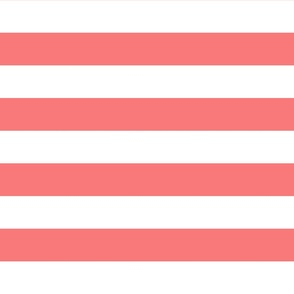 stripes lg coral