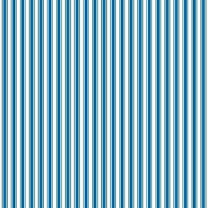 ticking stripes royal blue