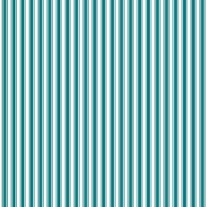 ticking stripes dark teal