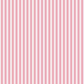 ticking stripes pretty pink
