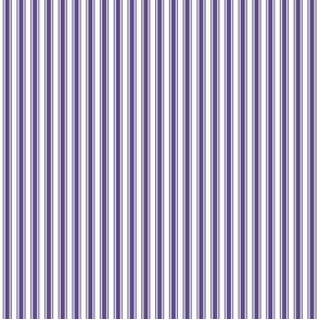 ticking stripes purple
