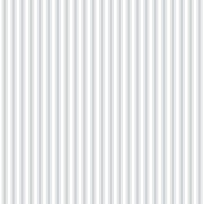 ticking stripes light grey
