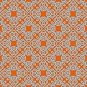 Square Knot Orange