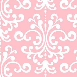 damask lg light pink