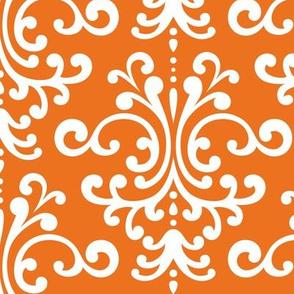 damask lg orange