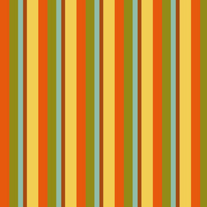 Childhood Vacation Palette Stripes