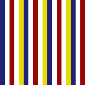 Nautical Palette Stripes