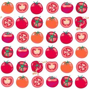tomato polka splat - large scale