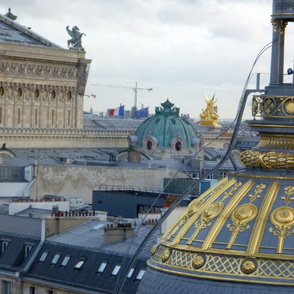 Across the Rooftops of Paris