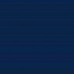 Doll Stripe Blue-Black