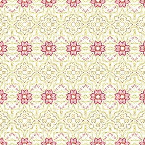 a floral tapestry-ch