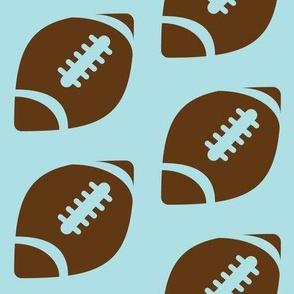 Half-Drop Brown Football