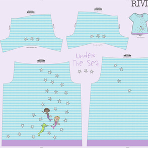 Under The Sea! Girls Riviera Tee!!!