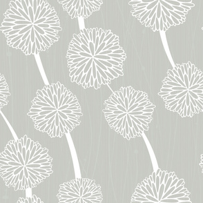 Pom Poms - Large Gray by Friztin