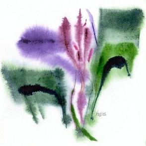 Iris, small, Wall Decal