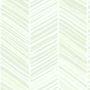 Herringbone Hues of Mint by Friztin