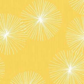 Dandelions Large M+M Yolk by Friztin