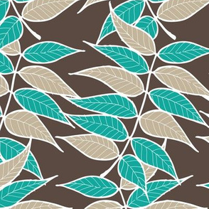chinese pistache - teal