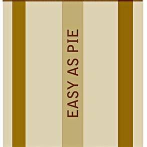 EASY AS PIE table napkins
