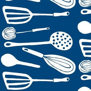 Magic Kitchen Tools (midnight sky blue & white)