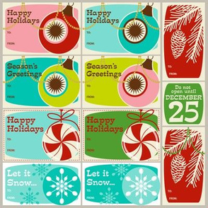 'Tis the Season Too! ~ Gift Tags ~ set no. 1