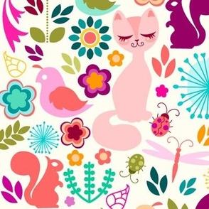 Garden Kitty Spring