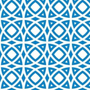 circles blue