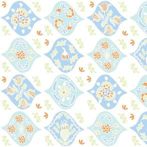 """Matisse """"Magic Carpet"""" Textile (sea shades)"""