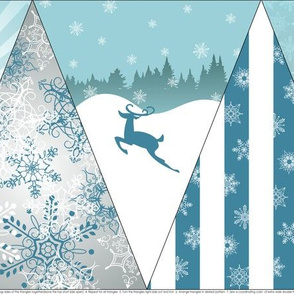 A Beautiful Day for a Snowball Fight - Bunting