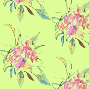 bouquet- celadon