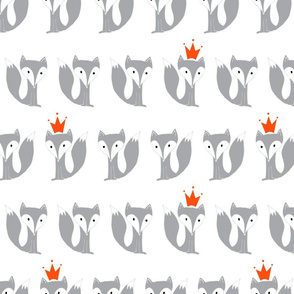King Fox in grey