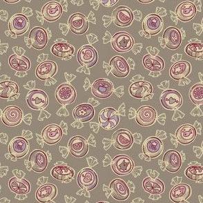 candy - purple gray