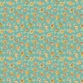 candy - vintage turquoise