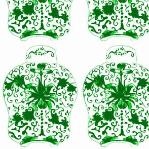tea caddy-emerald