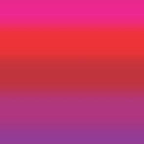 Ombre Stripe Purple and Red