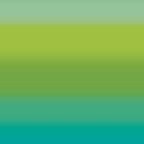 Ombre Stripe Green