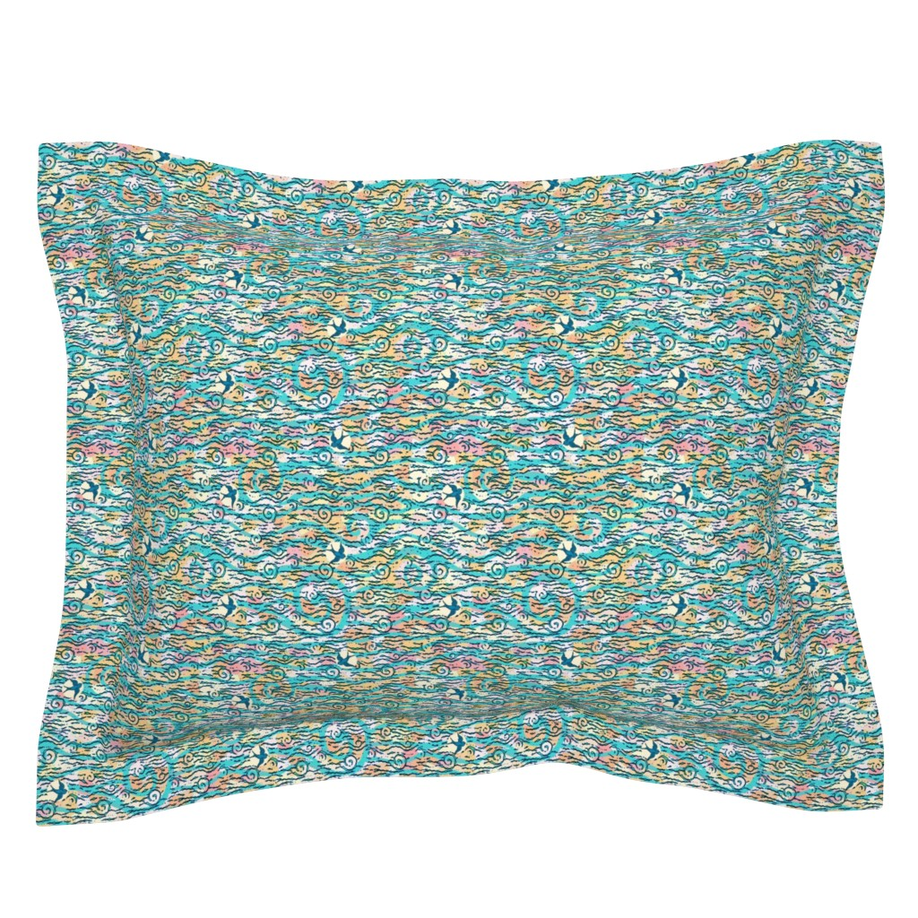 Sebright Pillow Sham featuring come fly with me by keweenawchris