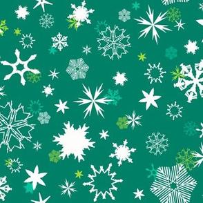 Sprouting Snowflakes