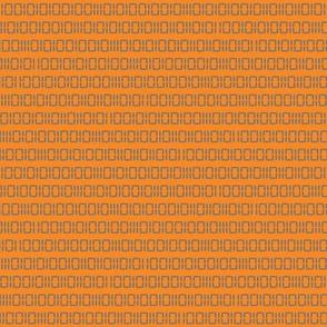 Robotika Binary (Orange)