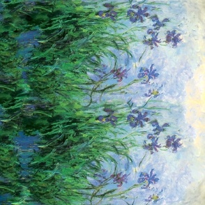 Monet: Irises